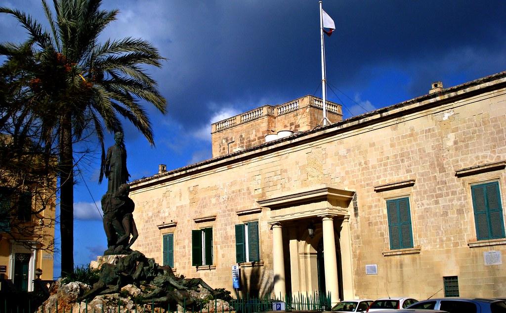 Auberge d'Aragon, Valletta, Malta