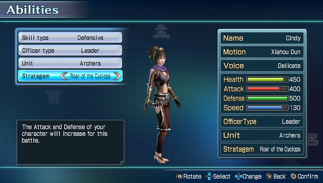 Dynasty Warriors Next Character Customization (4)