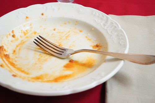 Mon assiette vide - 2012-01-19