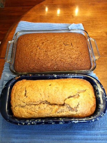 Buttermilk bread and cake