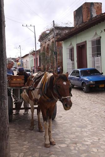 Streets in Trinidad