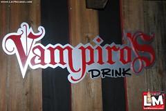 Compartiendo en @ Vampiros Drink