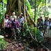 Naturetrek group at Rainforest Adventure, St Lucia
