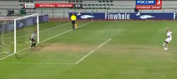 Uzbeki Aleksandr Geynrikh goes from smart ass to sucker in a penalty FAIL vs Zenit