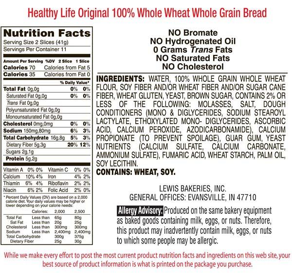 HLOrigWholeWheatBread-Nutrition