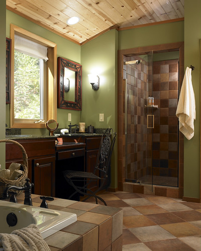 Remodeled bathroom by Home Design
