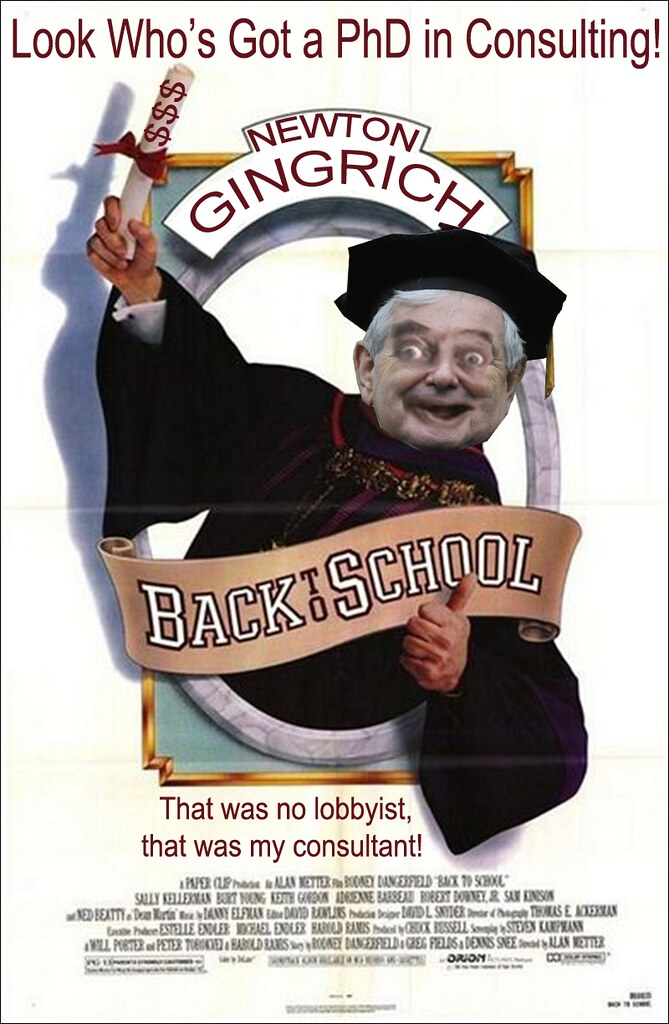 NEWTON GINGRICH BACK TO SCHOOL