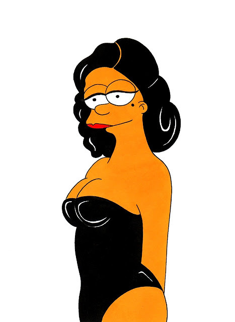 Marge Simpson Loves Dita Von  Teese