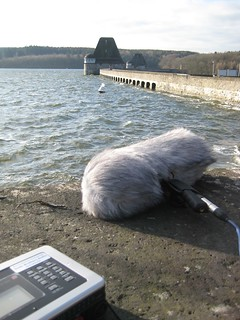 fieldrecording at the Möhne Reservoir