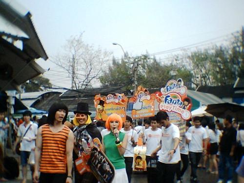 Fanta Caravan @ JJ-Market