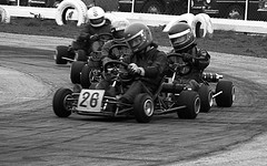 Carting at Rye House - from neg. film