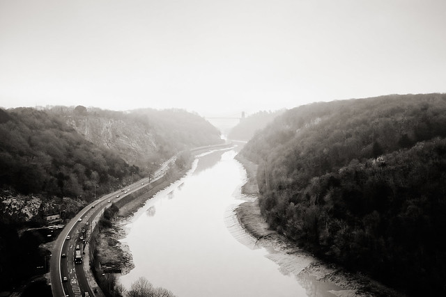 Photograph: [Untitled]; Avon Gorge, Bristol, January 2012. By Simon Holliday.