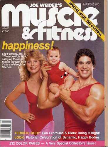 Muscle and Fitness Cover 1981