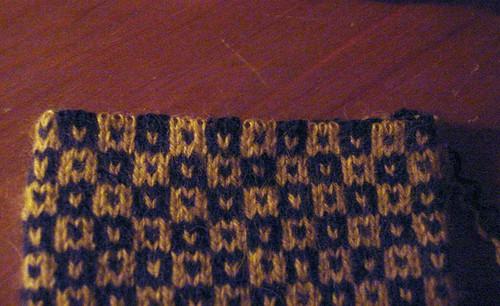 Sticky yarn