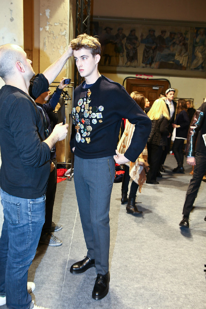James Smith3611_FW12 Paris Christian Lacroix(Dazed Digital)