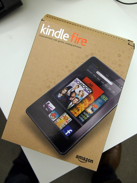Amazon Kindle Fire Box