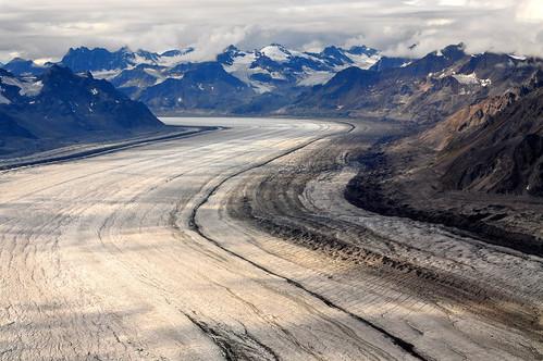 Glacier in Summer