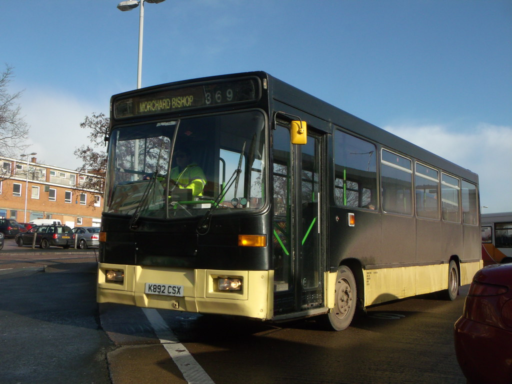 Turners Tours - K892CSX - Exeter - 26 January 2012 (2)