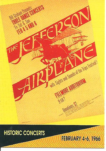 02/04 - 06/66 Jefferson Airplane @ Fillmore Auditorium, San Francisco, CA