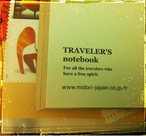 Midori Travelers Inserts in an A5 Finchley Filofax