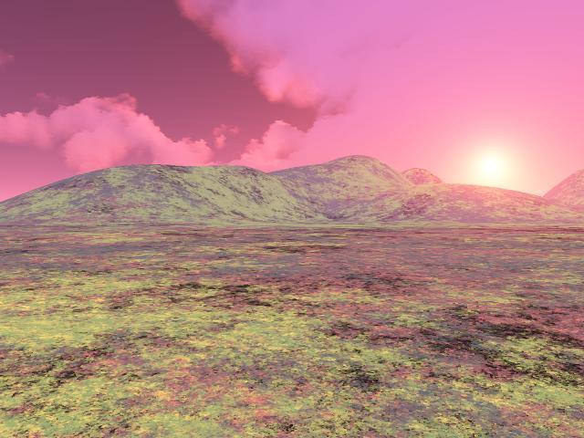 Seis paisajes de Terragenia