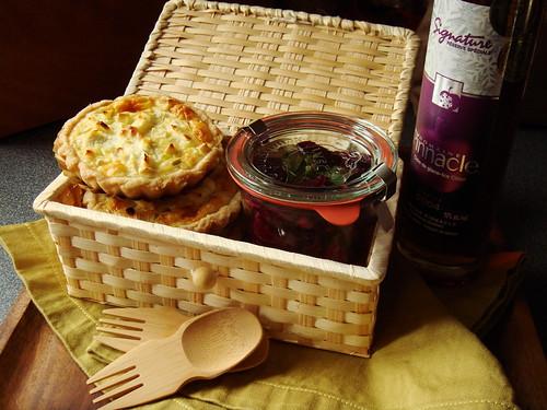 Quiche & Beet Salad Picnic