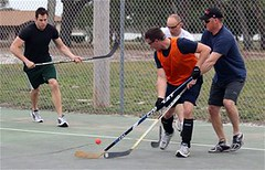 roller in-line hockey(0.0), field hockey(0.0), stick and ball games(1.0), sports(1.0), street sports(1.0), team sport(1.0), street hockey(1.0), hockey(1.0), player(1.0), ball game(1.0),