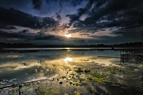 reflection sunrise nikon sampaloclake cokinzpro d300s afsdxnikkor1024mmf3545ged singhraylbneutralpolarizer singhraydarylbensonnd3reversegrad cokinz123l