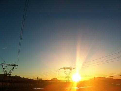 sunset sun canada landscape bc britishcolumbia canadian powerlines lensflare flare northamerica chilliwack iphone iphoneography msh0212 msh021211