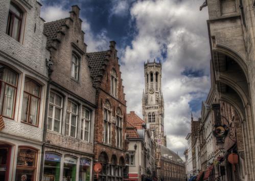 Tower. Brugges. Torre. Brujas