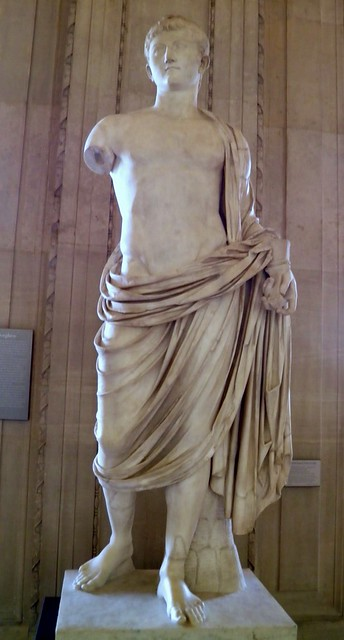 Statue of Germanicus, from Gabii, Italy, Louvre Museum, Paris