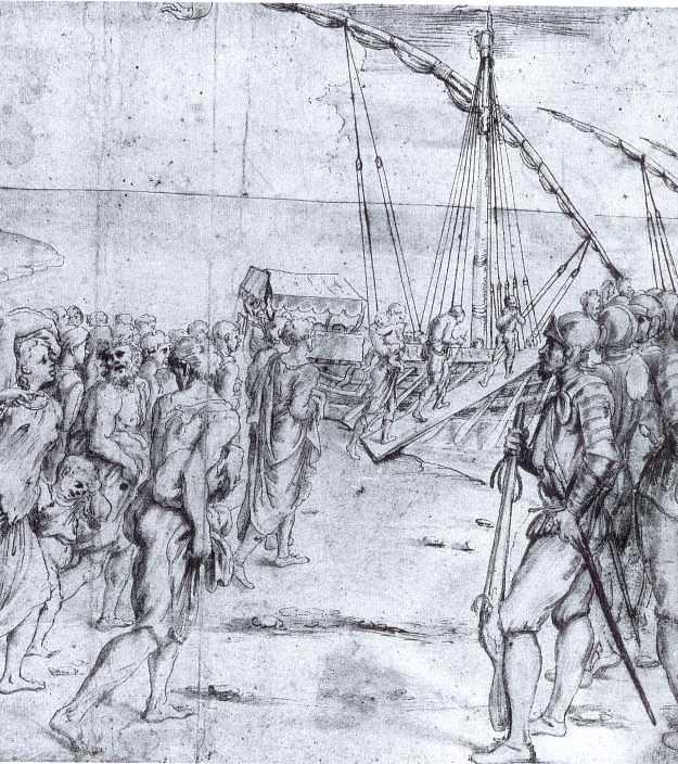 La expulsión de los moriscos (Carducho, 1627)