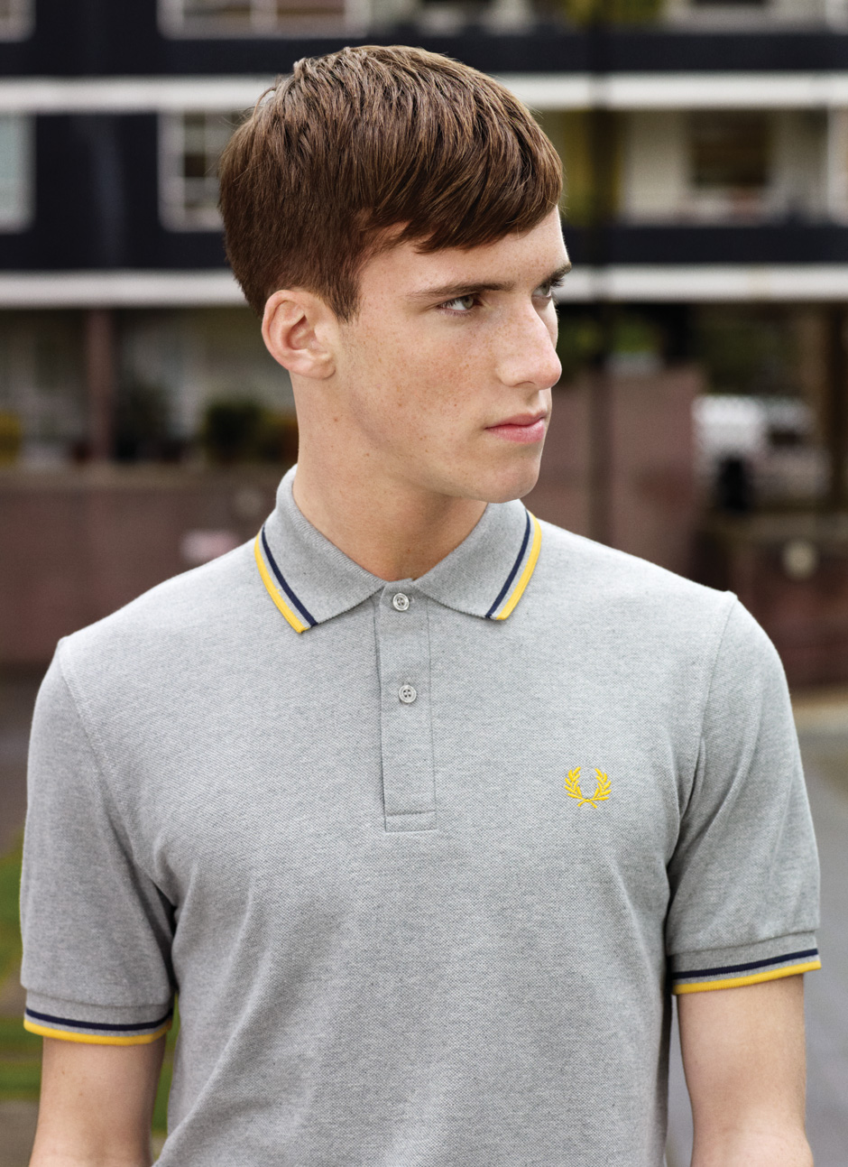 Johnny George0007_FRED PERRY SS12