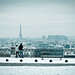 Paris under the snow by Philippe Lejeanvre