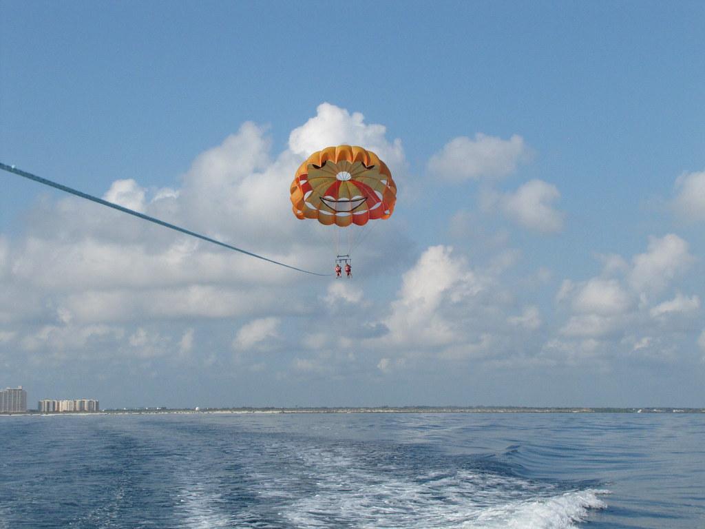 Parasailing Water Sports In Daytona Florida Call 386
