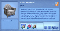 Stolen Rose Chair