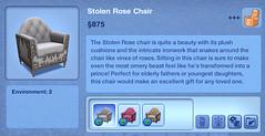 Stolen Rose Chair
