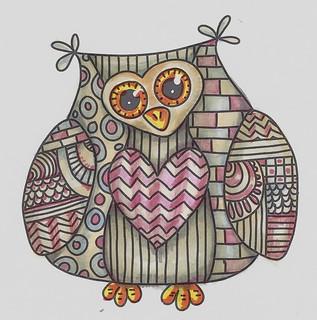 Letraset Challenge Owl 001