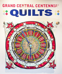 Quilt Exhibit at NY Transit Museum Gallery