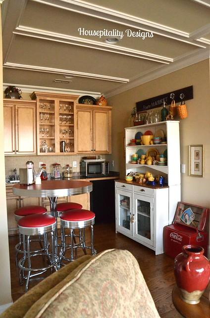 Home tour - Bank kitchenette ...