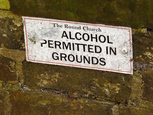 Round Church Alcohol Permitted Cambridge Apr 2014
