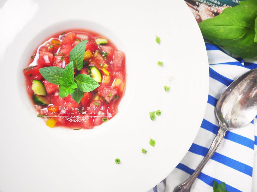 孤身廚房-西班牙西瓜冷湯25