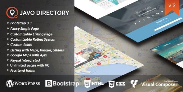 Javo Directory v2.2.5 - Wordpress Theme