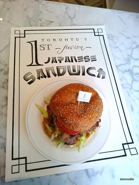 Toronto's 1st Fusion Japanese Sandwich