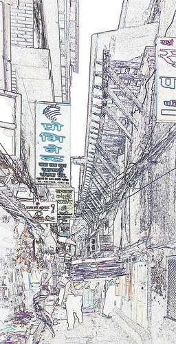 Nepal - Kathmandu - Streetlife - 173c