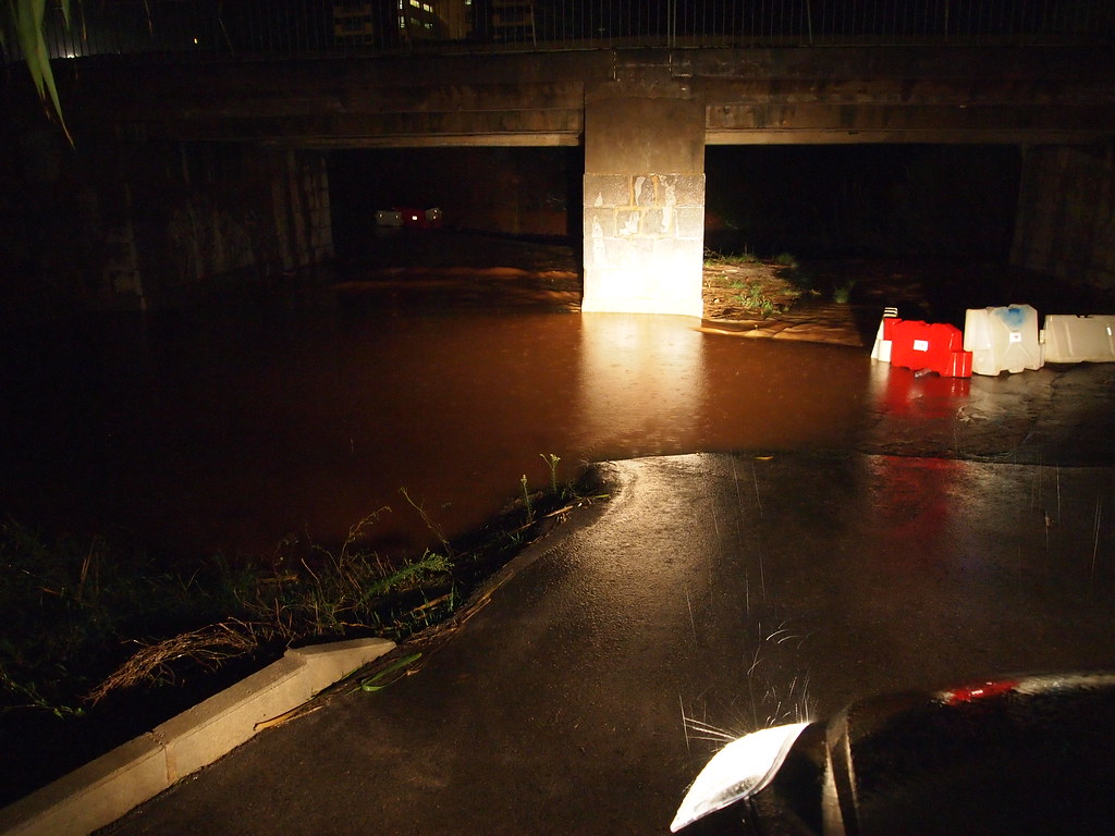 Lluvias en Oropesa del Mar (21/11/2011)