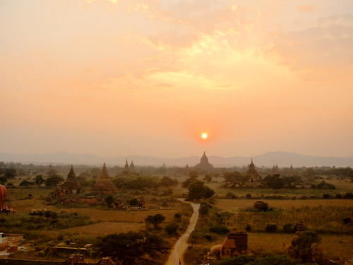 Bagan-Coucher de soleil (11)