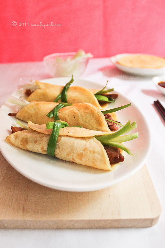 Chinese Roast Duck with Pancakes