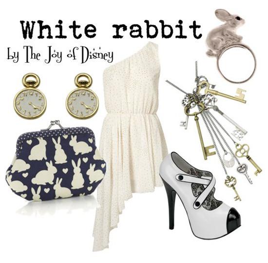 Inspired by: White Rabbit -- Alice in Wonderland
