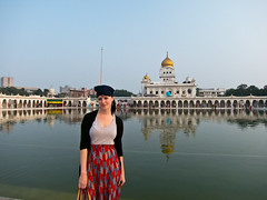 Haley @ Gurudwara Bangla Sahib